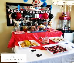 Mickey Mouse Table by Mickey Mouse Party This Little Estate