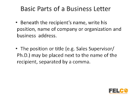 14 best images of parts of a business letter worksheet business