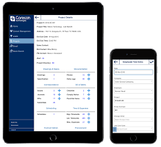 construction mobile software for ios and android corecon
