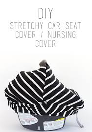 Universal Car Seat Canopy by Do It Yourself Divas Diy Stretchy Car Seat Cover