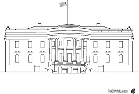 Coloring Pages Of The White House white house coloring pages hellokids