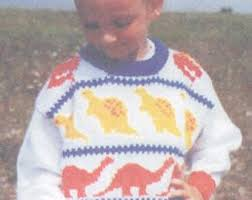 knitting pattern dinosaur jumper knitting pattern for sweater with dinosaur jumper knitting pattern