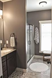 Bathroom Paint Schemes Best 25 Dark Gray Bathroom Ideas On Pinterest Gray And White