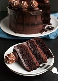 triple dark chocolate cake the tough cookie