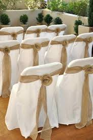 wedding chair sashes burlap sashes for wedding chairs burlap chair sashes search