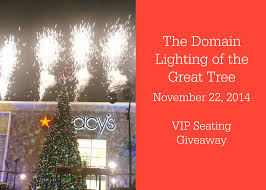 the domain lighting of the great tree austin tx november 22 2014