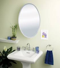 Bathroom Mirrored Cabinets by Furniture Excellent Oval Framed Bathroom Mirror And Bathroom