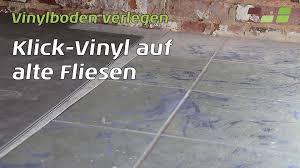 vinylboden für küche vinylboden auf fliesen verlegen planeo klick vinyl