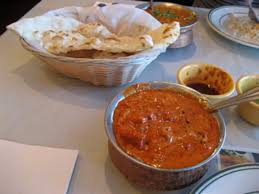 cuisine chantilly butter chicken and naan yum picture of minerva indian