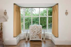 Curtains For Bay Window 17 Simple But Adorable Bay Window Curtains Designs
