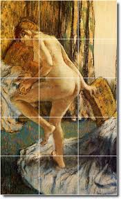 degas nudes wall mural shower bathroom tile ideas remodel house