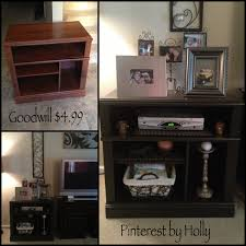 Bookcase Tv Stand Combo Found This Tv Stand At Goodwill For 4 99 Hello New Cable Box And