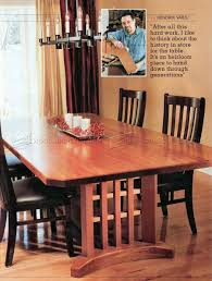 trestle table plans u2022 woodarchivist