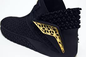 industrial designer creates striking entirely 3d printed shoes