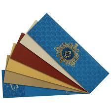 Hindu Wedding Invitations Hindu Wedding Card In Firozi With Laser Cut Design Wedding