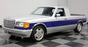 the mercedes benz s class pickup truck you never knew about