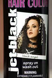 amazon spray wash white hair color temporary