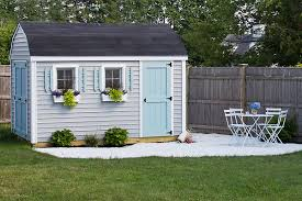 Shiplap Sheds For Sale This Coastal She Shed Is An Adorable Backyard Retreat