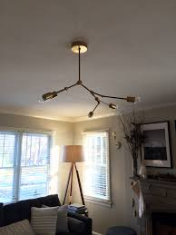 Diy Light Fixtures by Lighting Diy Living Room My Simply Simple
