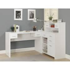 home office writing desk funiture corner office desk ideas using corner white wooden writing