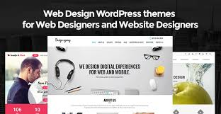 web design wordpress themes for web designers and website