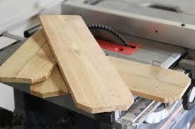 diy scrap wood letter the wood grain cottage