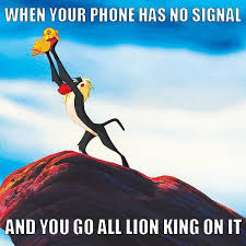 Lion King Cell Phone Meme - aaa54e0b506aa7a7f615499821c79c7f jpg