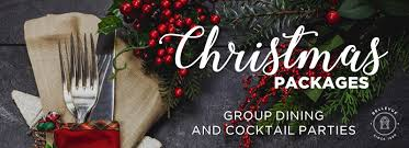 christmas party function packages bellevue hotel