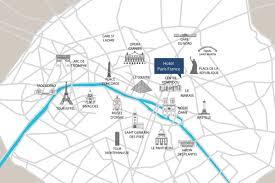 Paris France Map by Hotel Paris France Official Website Map