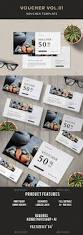 163 best voucher template u0026 design images on pinterest gift