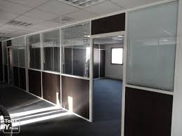 cloison aluminium bureau cloison bureau aluminium vitrée et pleine provence alpes côte d azur