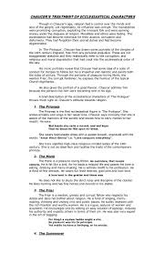 Worksheet Word Equations Chaucer U0027s Treatment Of Ecclesiastical Character