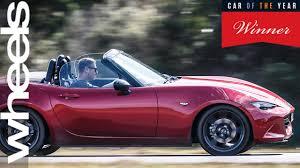 mazda cars australia mazda mx 5 car of the year 2016 winner car of the year wheels