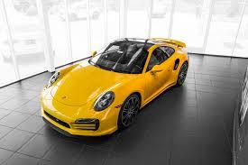 yellow porsche panamera 2015 porsche 911 turbo s for sale in colorado springs co 15082