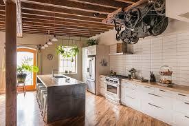 cuisine style industriel loft design interieur cuisine style industriel ambiance loft bois