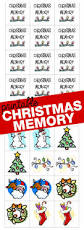 christmas memory game i can teach my child