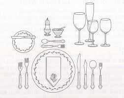 how do you set a table properly how to properly set up a dinner table culture magnet