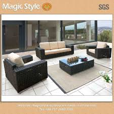 china open weaving sofa outdoor big size hotel project high