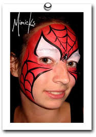 29 spiderman face paint images spiderman face