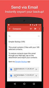 contacts apk contacts backup restore by simpler 8 4 apk for android