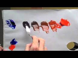 3 ways to blend acrylic paint wikihow 3 ways to mix colors to blue wikihow