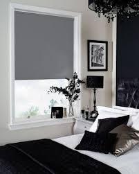 Roller Blinds Bedroom by Bloc U0027 Zinc Blackout Blind Premium Roller Blinds Great For