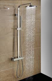 foxhunter bathroom mixer shower set twin head round square chrome foxhunter bathroom mixer shower set twin head round