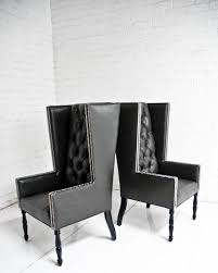 chairs stunning black leather chairs vintage leather armchair