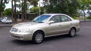gold nissan car nissan bluebird sylphy 2004 gold 1 8l auto youtube