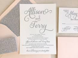 Silver Wedding Invitations 33 Pink And Silver Wedding Invitations Vizio Wedding