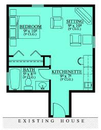 apartments single story house plans with inlaw suite house plans