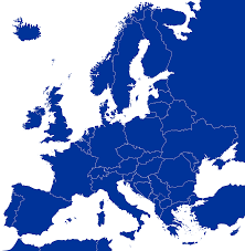 Empty Map Of Europe by File Blank Map Of Europe Cropped Blue Svg Wikimedia Commons