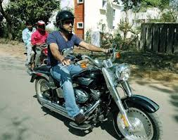 hellcat x132 dhoni m s dhoni enjoy riding with his favourite bike crickethighlights com
