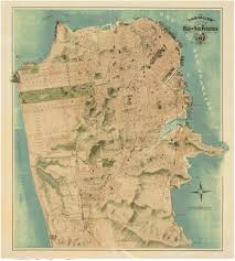 San Francisco Ca Map by Old Maps Of California San Francisco
